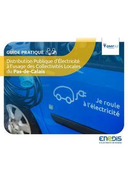 Guide Enedis à destination des collectivités locales du Pas-de-Calais