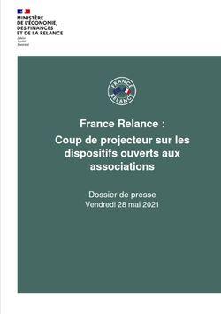 France Relance : coup de projecteur sur les dispositifs ouverts aux associations