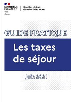 Guide pratique sur la taxe de séjour